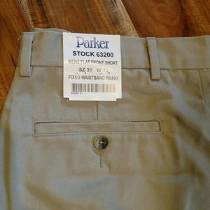 NWT, Parker uniform shorts,  sz 31